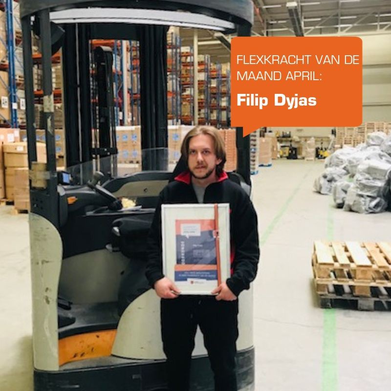 Flexkracht van de maand april: Filip Dyjas
